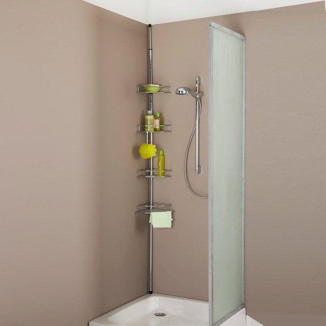 Prateleira de canto extensível para banheira ou poliban La Redoute Interieurs