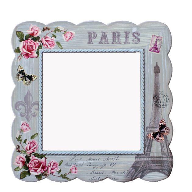 Καθρέφτης τετράγωνος Eiffel ,  Τιμή: €36,00 , http://www.lovedeco.gr/p.Kathreftis-tetragonos-Eiffel.785765.html
