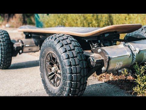 INSANE Electric Skateboard  6000 WATT  YouTube  fun  Madera