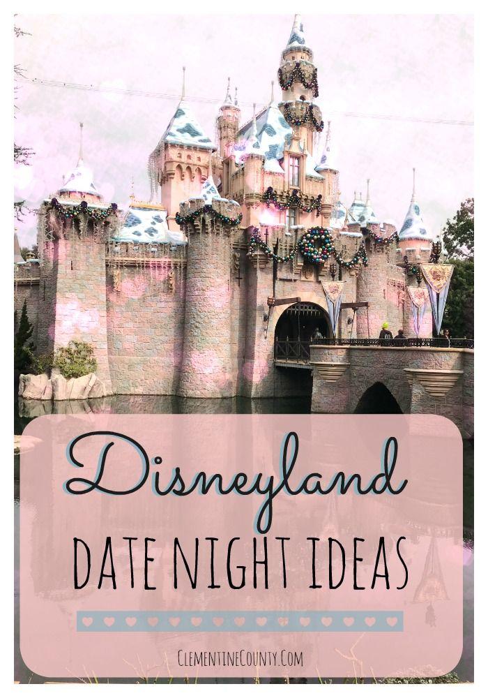 Calling all princes and princesses!  Disneyland Date Night Ideas make fun a magical evening.