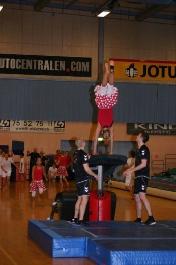 She was on Talentholdet from Kolding, Denmark;)