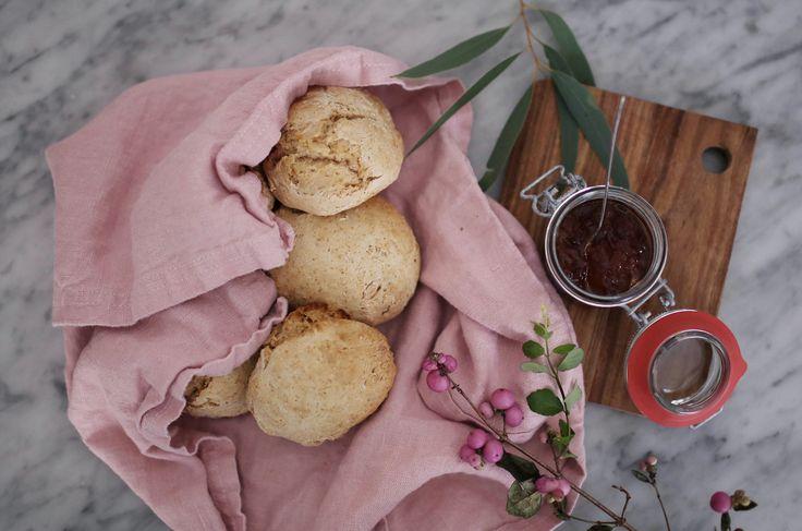 Enkelt och snabbt recept på frukostbullar utan jäsning – helgen är räddad!