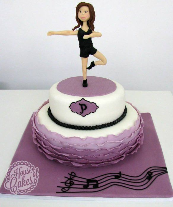 Clipart Birthday Dancing Cake : 1000+ images about Dance/Disco Party Cakes on Pinterest