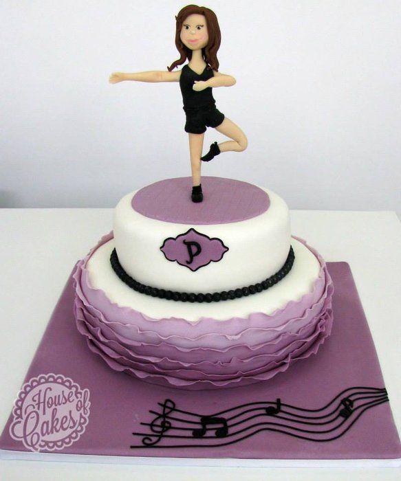 Cake Ideas Disco Birthday Party : Jazz Dance Cake Dance Pinterest