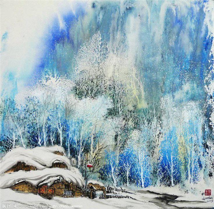 Bai Haoran.Китайский художник. Обсуждение на LiveInternet - Российский Сервис Онлайн-Дневников
