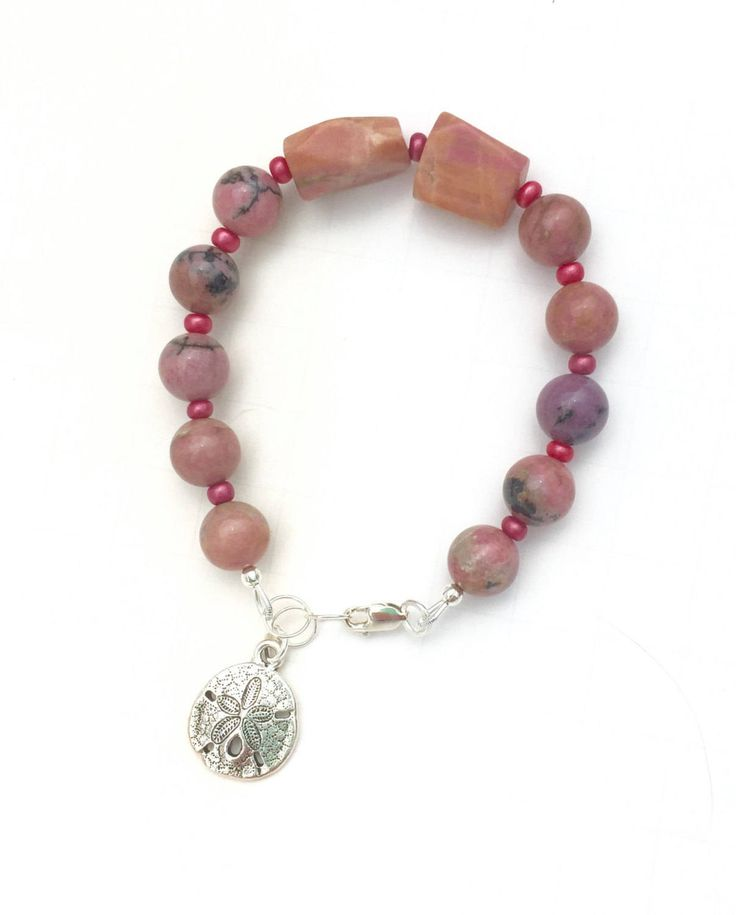 Just launched! Natural Rhodonite Bracelet, Pink Gemstone Bracelet, Beach Bracelet, Healing Gemstone https://www.etsy.com/listing/462185163/natural-rhodonite-bracelet-pink-gemstone?utm_campaign=crowdfire&utm_content=crowdfire&utm_medium=social&utm_source=pinterest