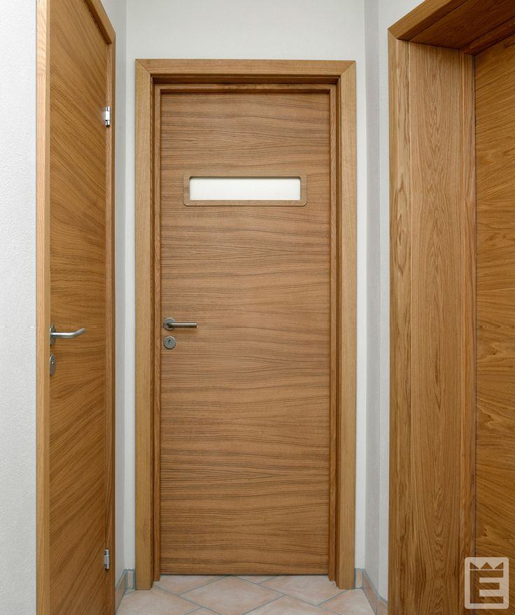 Innerdörr Slät ek G33 med foderbildande E-karm i ek.  Trycke T-Line 2001-16 rostfritt. #Ekstrands #Innerdörr #Innerdörrar #dörr #dörrar #ek #Slät