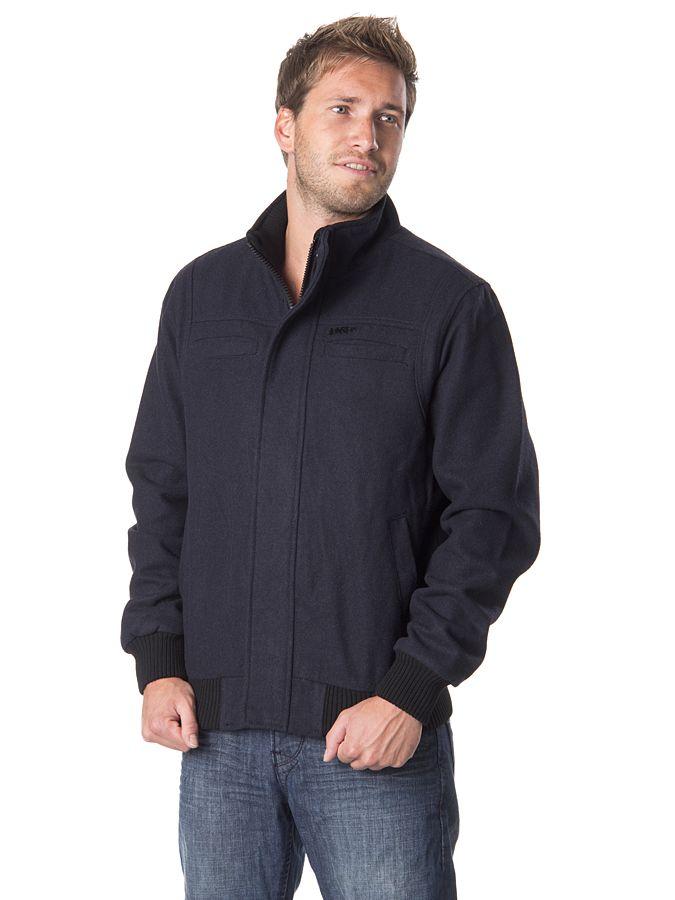 Męska kurtka zapinana na zamek i guziki 245 PLN   #limango #outdoor #jacket #men