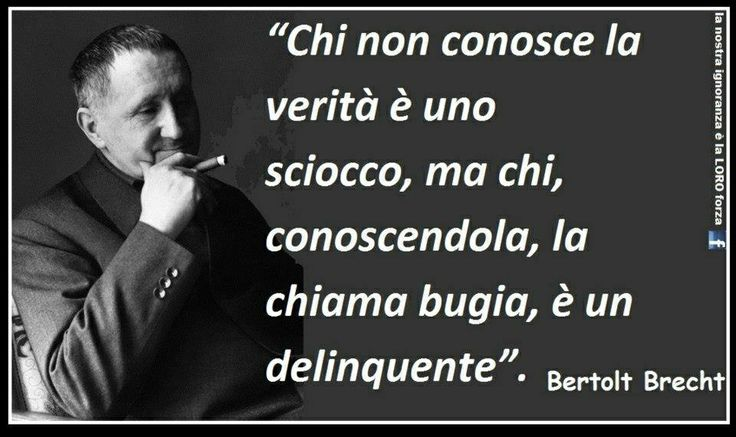 Il mio amato Brecht