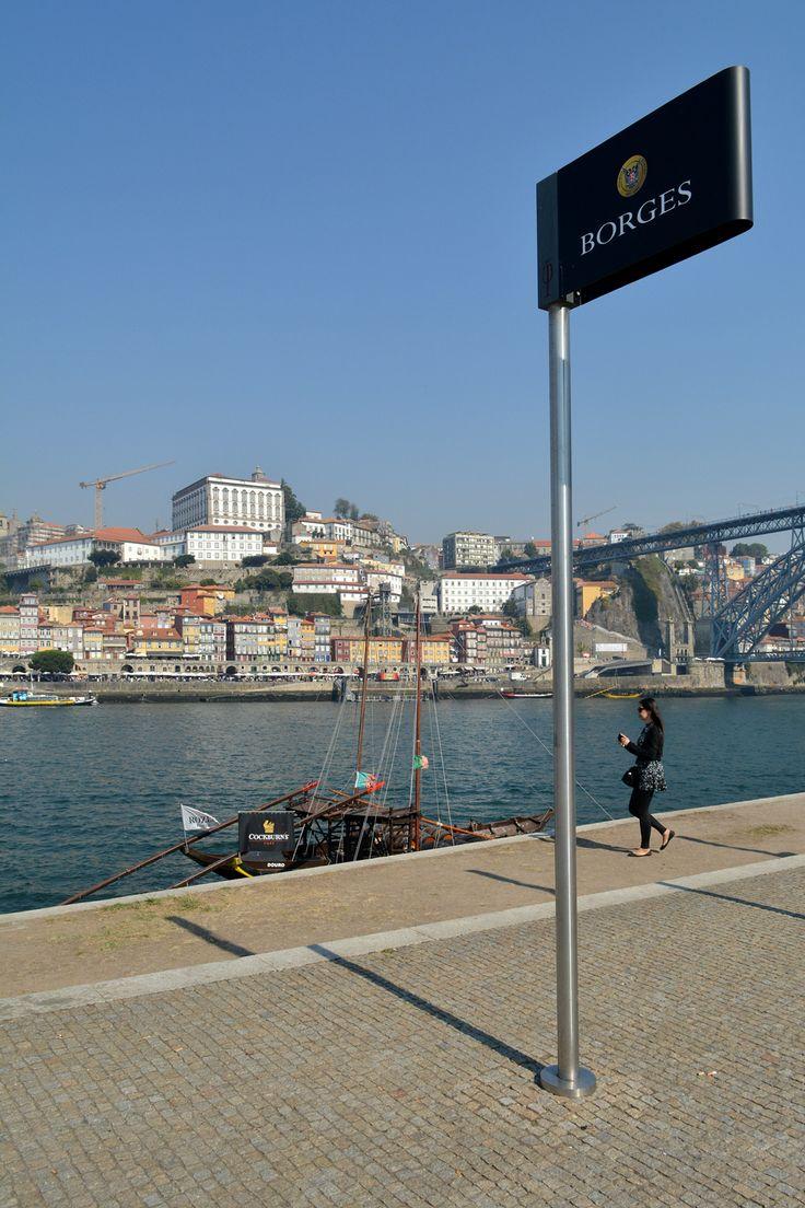City of Porto, view from Vila Nova de Gaia, Portugal