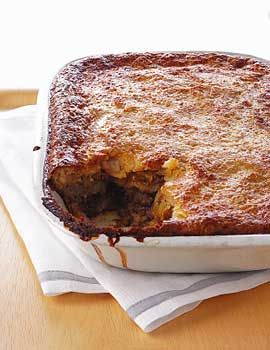 Croatian Moussaka Recipe at Epicurious.com