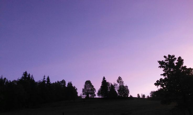 Blue and purple and pink sky in Zakopane, Poland. This is verry beauty. I love POLAND
