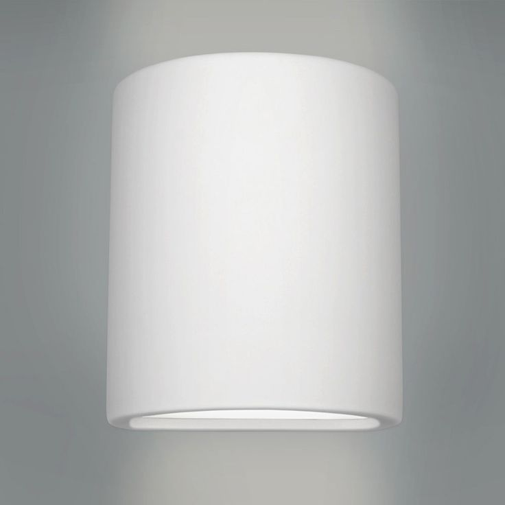 Details About Modern Curved White Ceramic Up Down Indoor Wall Light Fittings Lights NEW