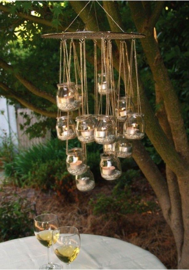 mooie sfeervolle verlichting voor in de tuin