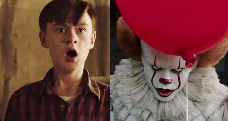 """OMGGG! """"IT: A Coisa"""" ganhou um teaser trailer ainda mais assustador com o terrível palhaço Pennywise! Vem assistir (por sua conta e risco) no hugogloss.com!"""