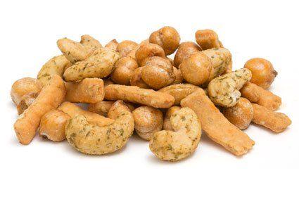 Graze Protein Cashew Kick - Spicy chickpeas, chili lime cashews, garlic sesame sticks