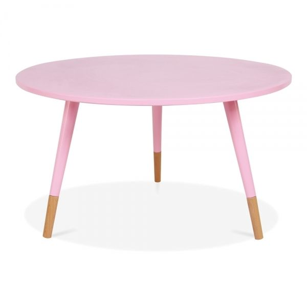 Cult Living Pink 42cm Pop Side Table in Solid Wood | Cult Furniture UK