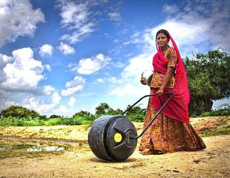 Geniaal: 'waterwiel' maakt leven van vrouwen pak makkelijker - opmerkelijk - De Morgen