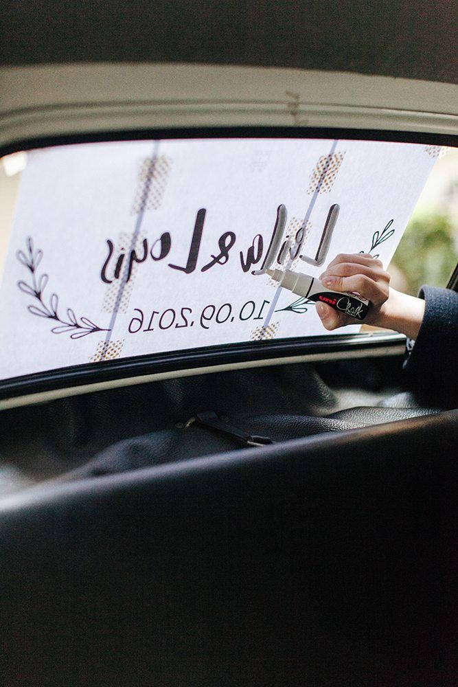 Go On-Line Create a template and Using a Chalk Pen apply inside rear window