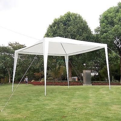 Outdoor 10'x10'Canopy Party Wedding Tent Heavy duty Gazebo Pavilion Cater Events