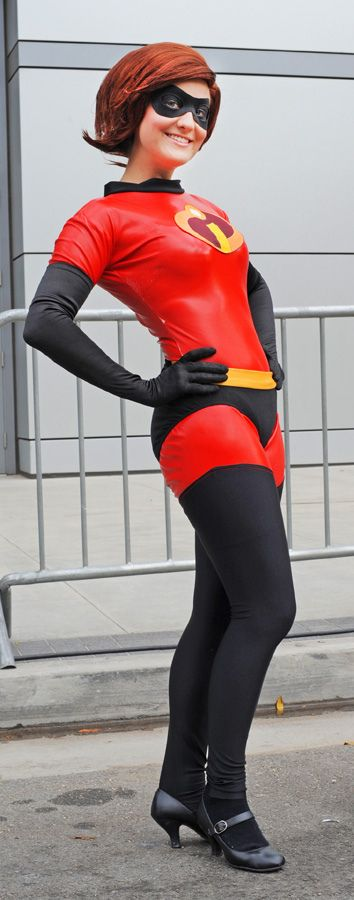 Mrs. Incredible (or Elasti-Girl) #cosplay