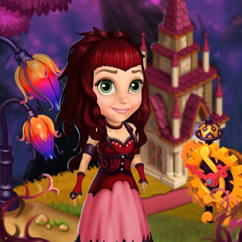 Every princess' MUST HAVE: Goth Outfit in Royal Story! #royalstorygame