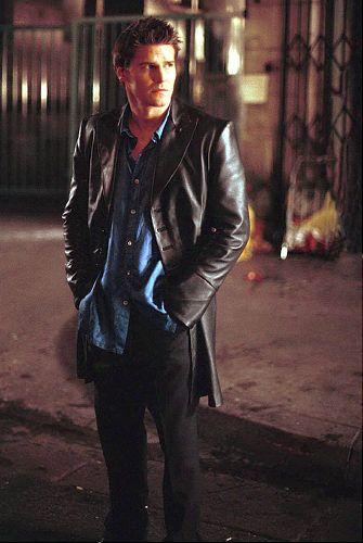 David Boreanaz - Angel I'm sorry but this was my first vampire crush, move over Damon Salvatore!