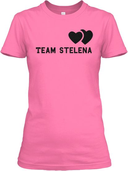 """Who do you choose? We love Team Stelena! Be a part of true love :)  >> Team Stelena --> http://www.teespring.com/teamstelena"