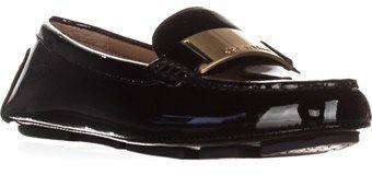 Calvin Klein Lisette Slip-on Dress Loafers, Black Patent.