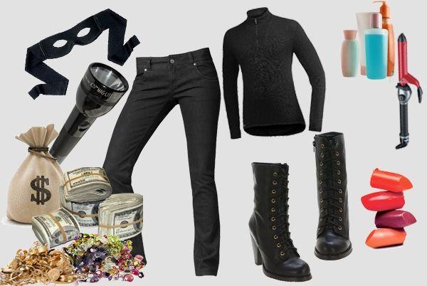Bank Robber costume - closet ideas