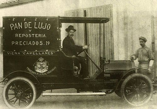 MADRID ANTIGUO 1920 VEHICULO DE REPARTO DE VIENA CAPELLANES | Flickr: Intercambio de fotos