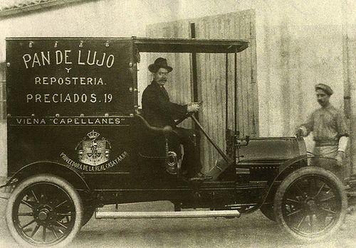 MADRID ANTIGUO 1920 VEHICULO DE REPARTO DE VIENA CAPELLANES | Flickr: Intercambio de fotos
