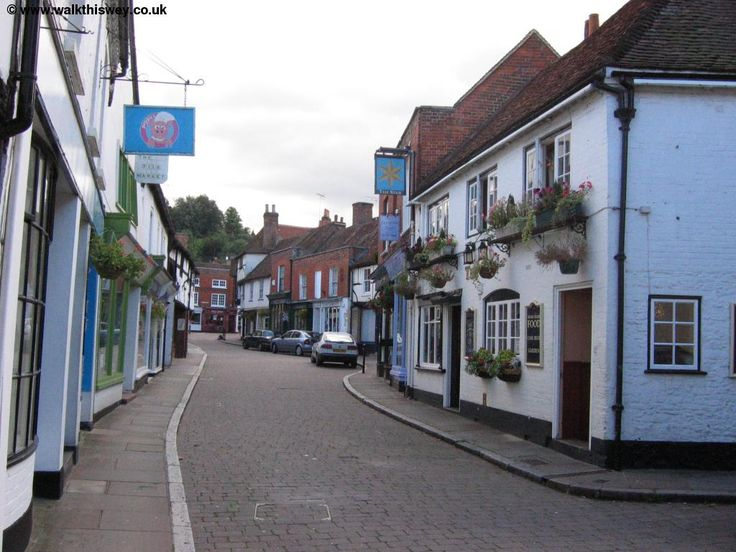 Godalming, Surrey, UK.  Spent a lot of time here. I miss this town! <3