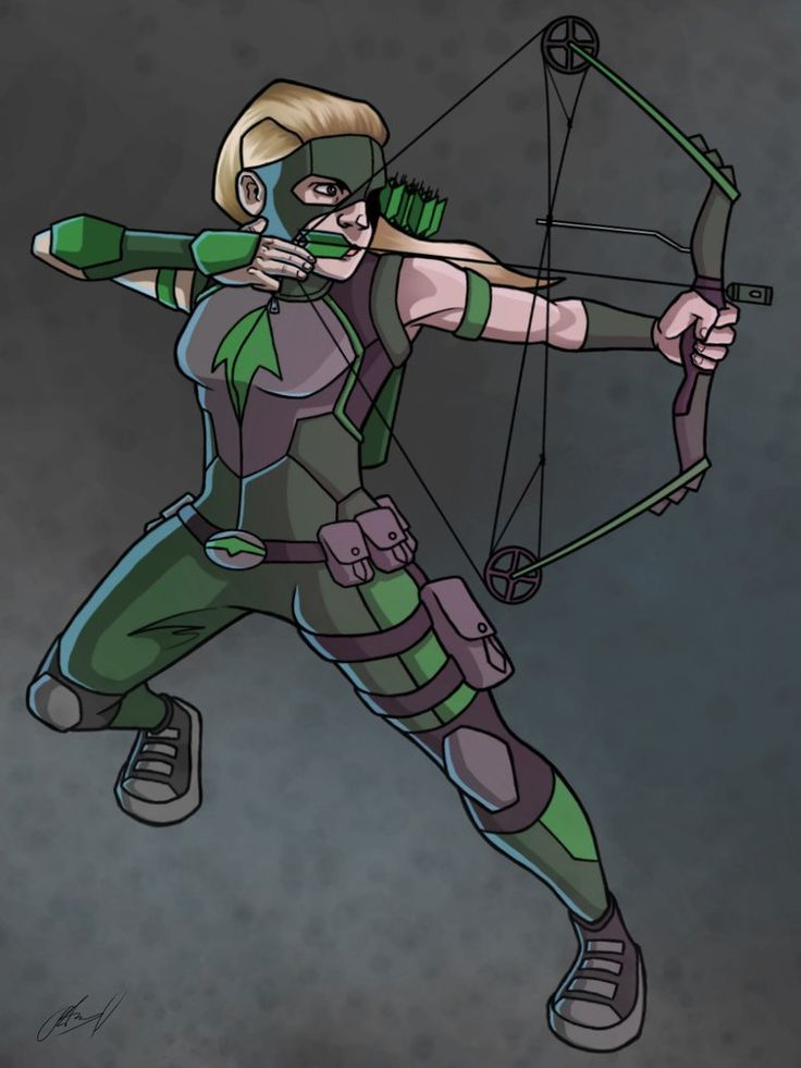 Artemis - Young Justice by AnthonyParenti on DeviantArt