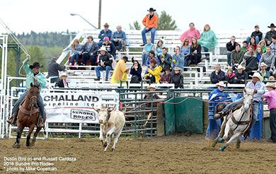 Pro Rodeo Canada Results from Wainwright, Sundre & High River
