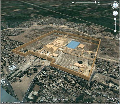 Digital Karnak: Virtual Field Trip to Egyptian Temple