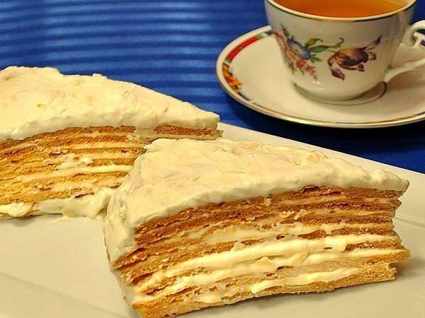 """Самый вкусный торт с лесными орехами и миндалем  """"Парижский коктейль"""""""