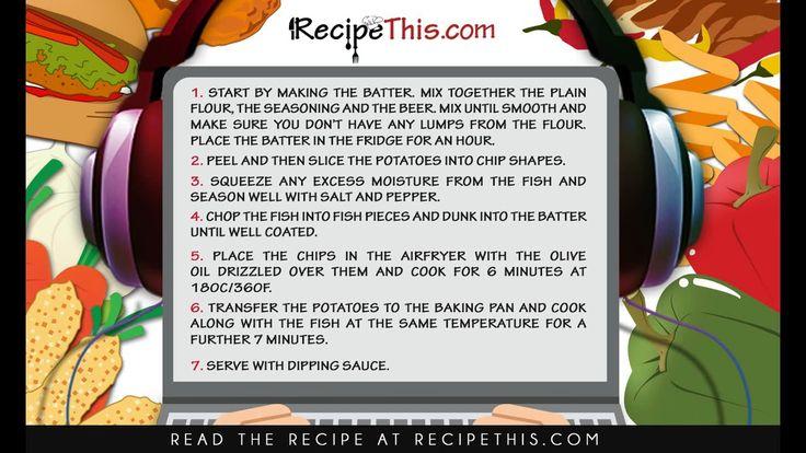 467 beste afbeeldingen van air fryer recipes more for Beer battered fish airfryer