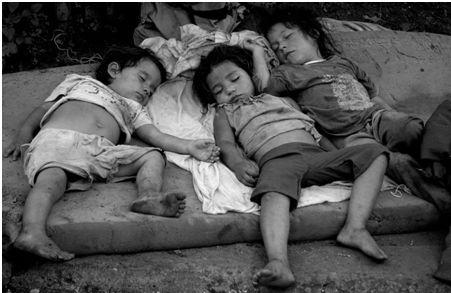Poesía sobre niños pobres sin hogar