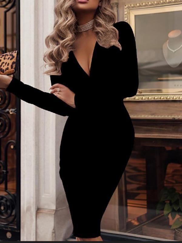 Women Long Sleeves Square Neck Stripes Rib Bodycon Club Party Casual Mini Dress