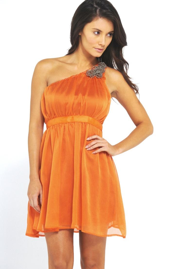 57 best dresses images on pinterest wedding dressses dream orange bridesmaid dress with purple flowers instead of silver ombrellifo Gallery
