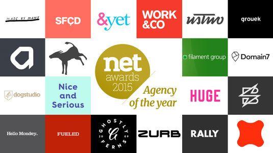 The 20 best web design agencies of 2015.