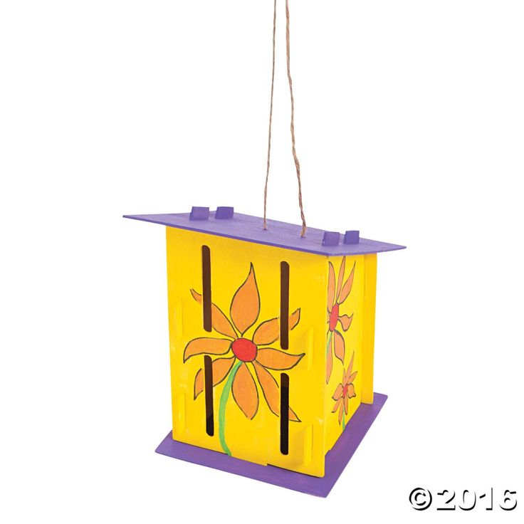 Use your own paint and embellishments to give beautiful butterflies a place to rest their wings. These DIY Butterfly Houses are perfect for hanging in the ...