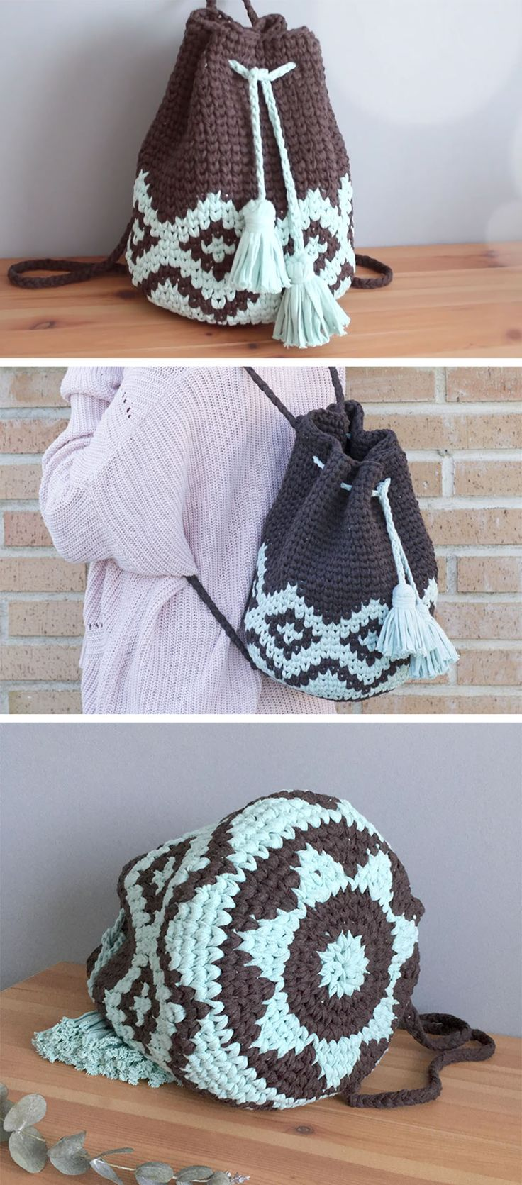 I'm showing you today an amazing tutorial how to make a crochet mochila tapestry. It will be very useful resource for your daily use or for your summer vacations. Do you need something cool and fresh for your summer holidays? Here is a nice idea for creating a crochet mochila tapestry, that fashion touch on your daily look.…