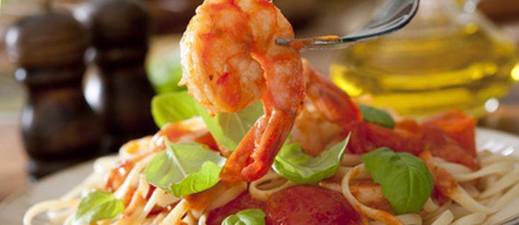 Spaguetti con mariscos