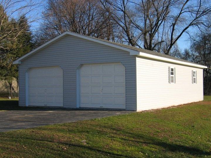 Amish Garages 24x24 : Car garage garages pinterest