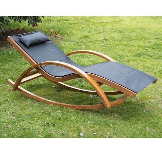 Garden Wooden Lounger Patio Sun Bed Rocking Chair Pool Armrest Recliner Pillow & Garden #Sunlounger #Chair #Patio #Recliner #Sunbed #Outdoor ... islam-shia.org