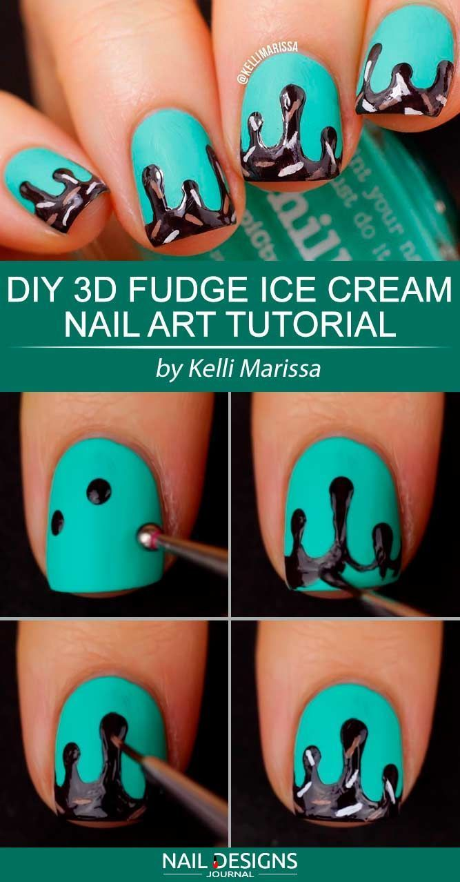 20 Easy Tutorials. How To Do Cute Nails Designs To Up The Nail Game