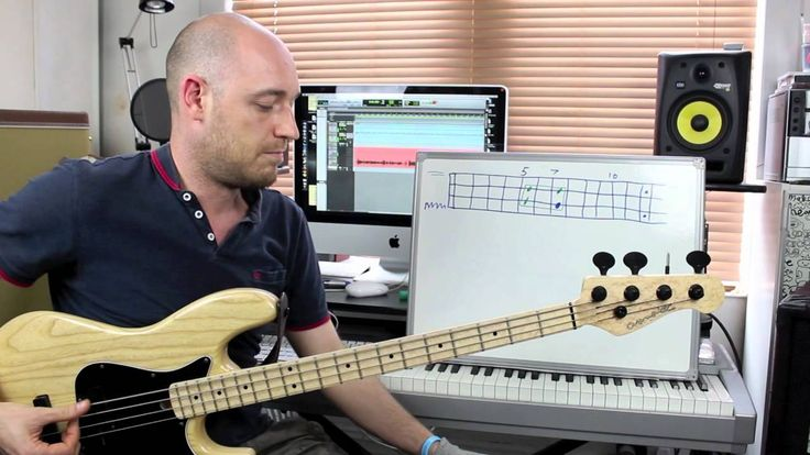 Using Simple Shapes to Create Bass Lines - Lesson with Scott Devine (L#70)