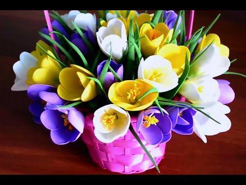 Açafrões de foamirana - Flores master class foamirana